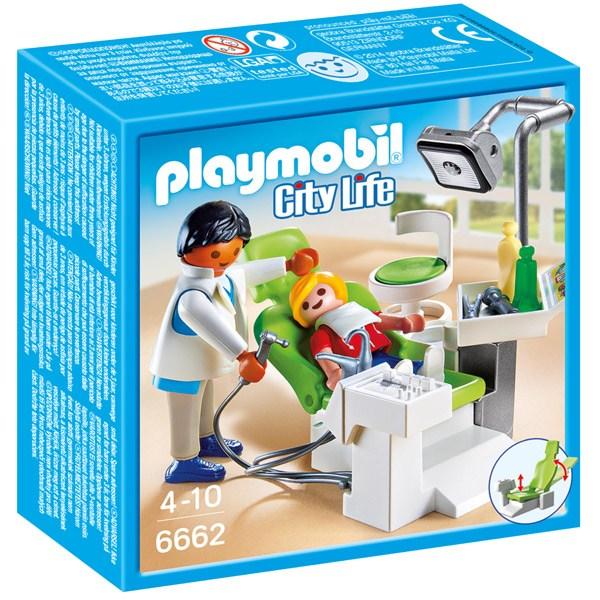 Playmobil City Life 6662 Dentista con Paciente - Imagen 1