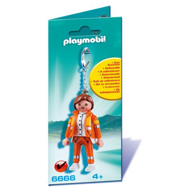 Playmobil 6666 Llavero Servicio de Emergencias
