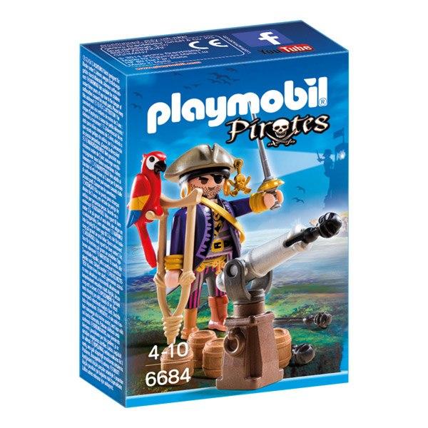 Playmobil Pirates 6684 Capitan Pirata