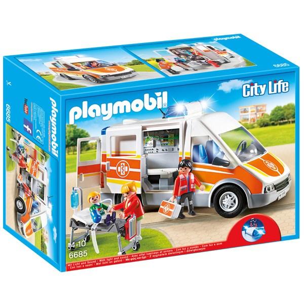 Ambulancia Llums i Sons Playmobil - Imatge 1