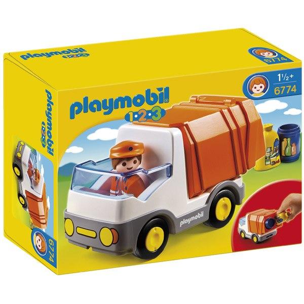 Camio de Basura Playmobil 1.2.3 - Imatge 1