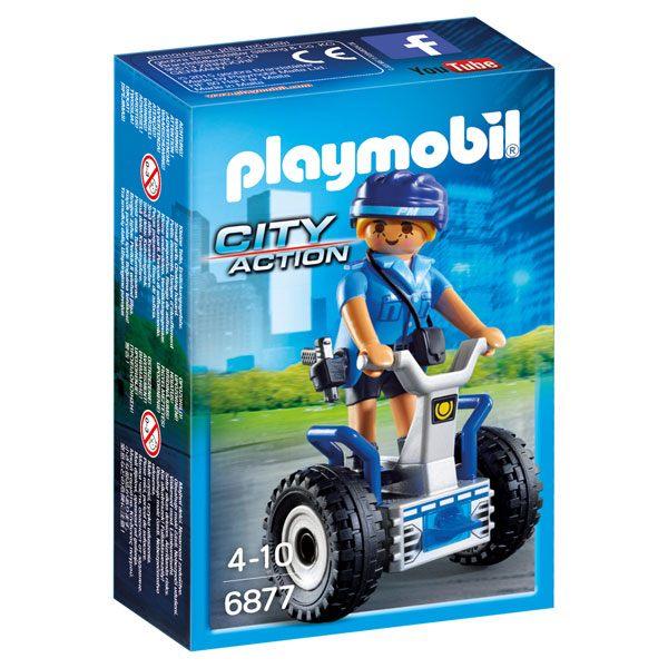 Playmobil 6877 Policía con Balance Racer