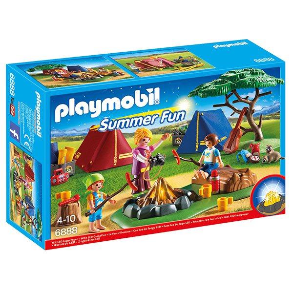 Playmobil Summer Fun 6888 Campamento con Fogata | JOGUIBA