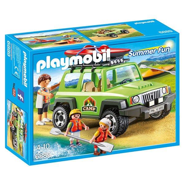 Playmobil Summer Fun 6889 Vehiculo 4x4 con Canoa