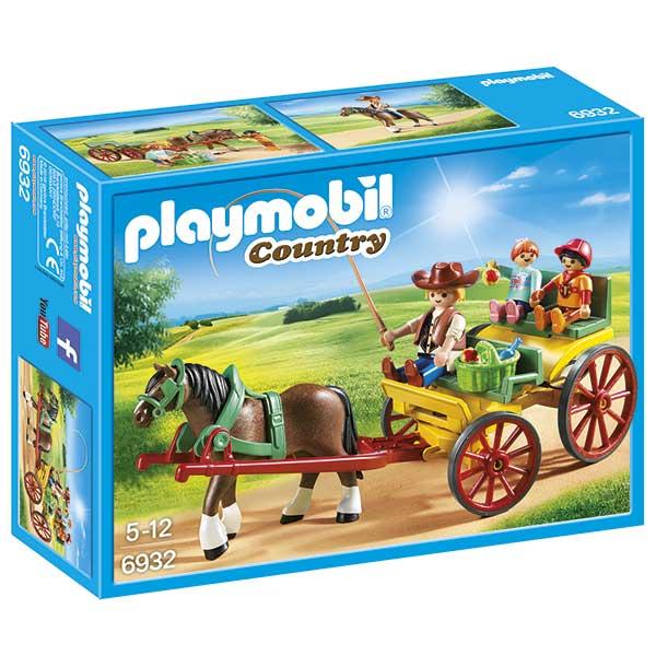 Carruaje con Caballo Playmobil