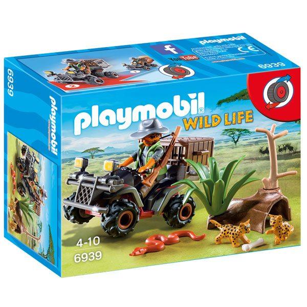 Playmobil Wild Life 6939 Explorador con Quad