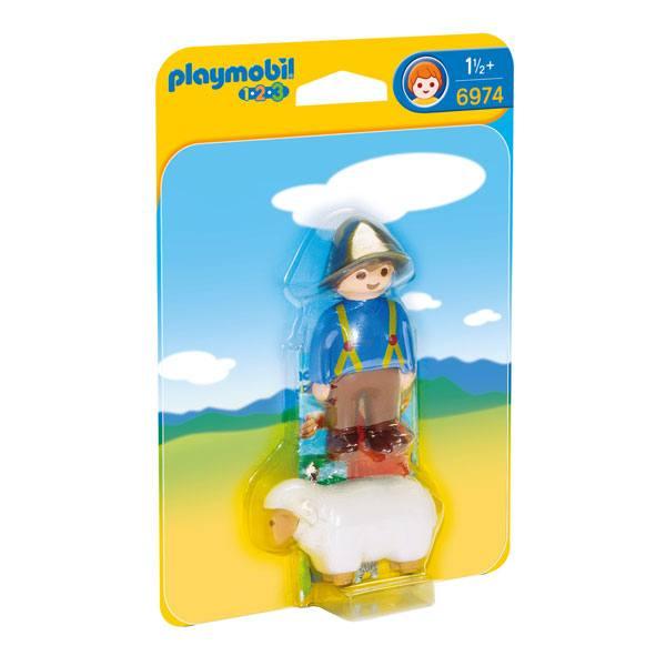 Playmobil 123 - 6974 Granjero con Oveja
