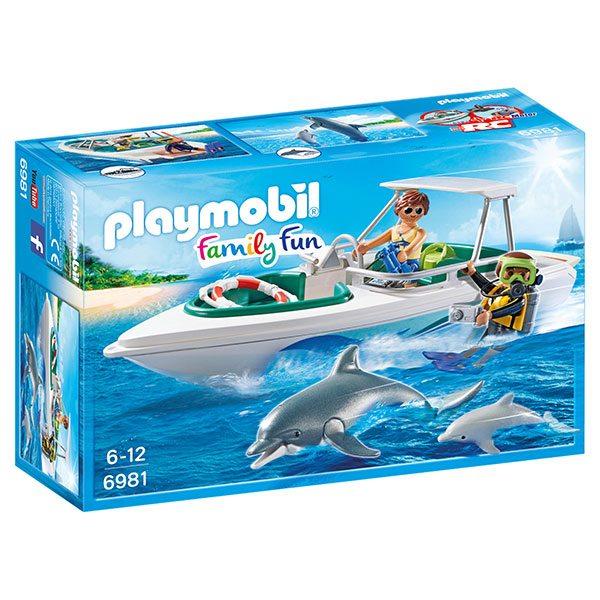Playmobil Family Fun 6981 Viaje de Buceo