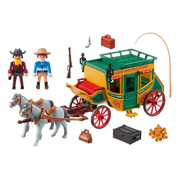 Diligencia Playmobil Western - Imatge 1