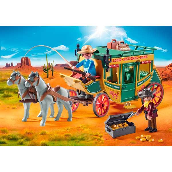 Diligencia Playmobil Western - Imatge 2