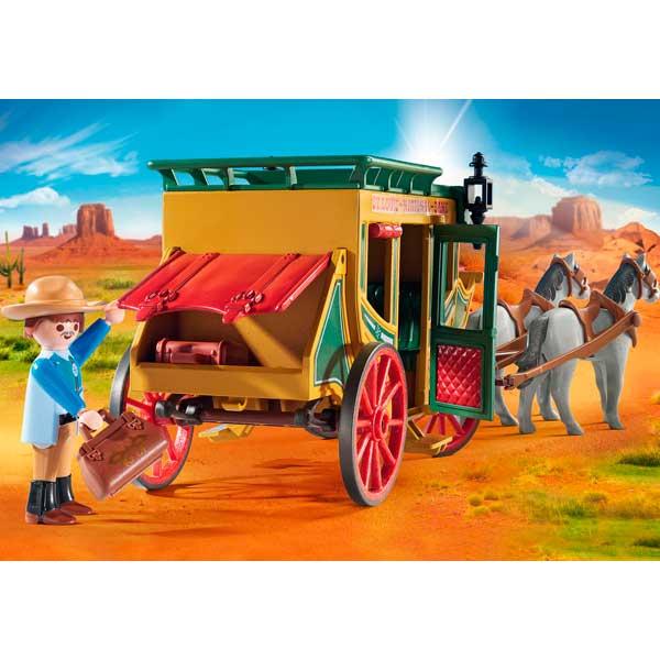 Diligencia Playmobil Western - Imatge 3