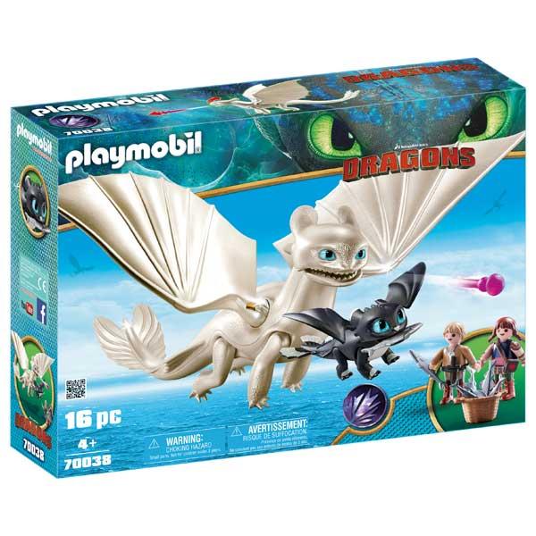 Furia Diurna amb Bebè Drac Playmobil Dragons - Imatge 1