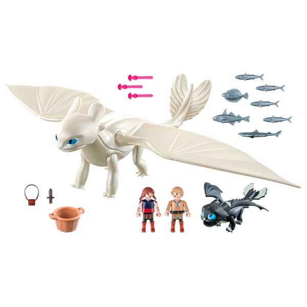 Playmobil 70038 Furia Diurna y Bebé con Niños - Imatge 1