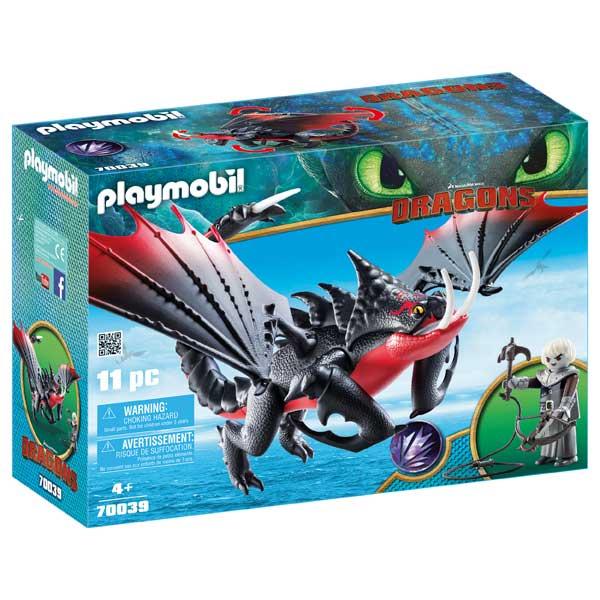 Aguijón Venenoso i Crimmel Playmobil Dragons - Imatge 1