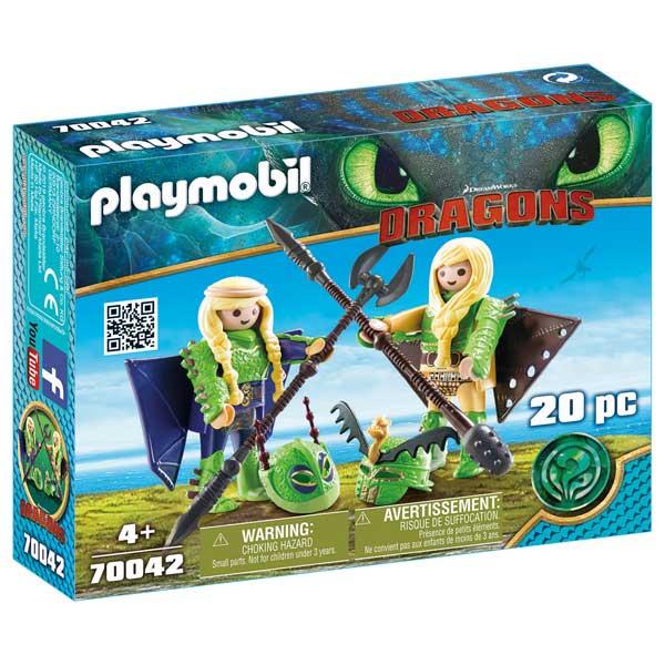 Playmobil 70042 Chusco y Brusca Traje Volador