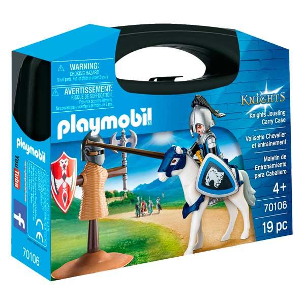 Maletí Entrenament Cavaller Playmobil Knights - Imatge 1