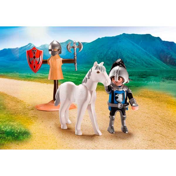 Playmobil 70106 Maletín de Entrenamiento para Caballero - Imatge 3