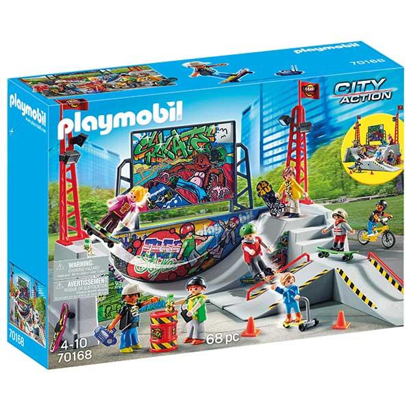 Playmobil 70168 Skate Park - Imagen 1