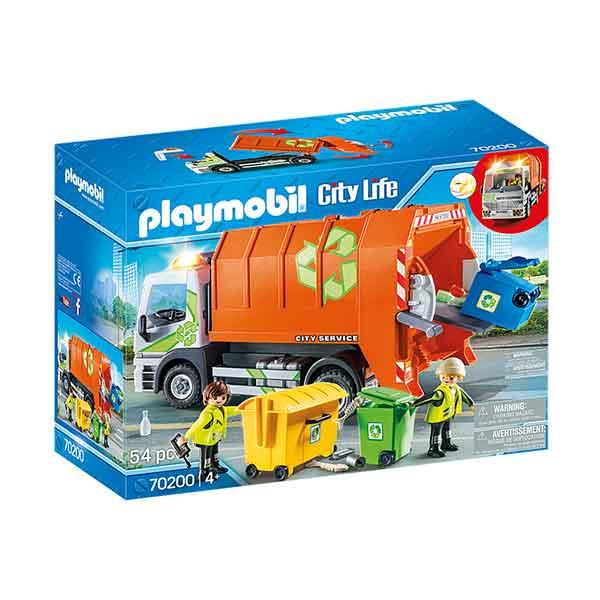 Playmobil City Life 70200 Camión de Reciclaje