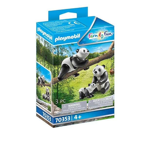Playmobil Family Fun 70353 Pandas con Bebé - Imagen 1