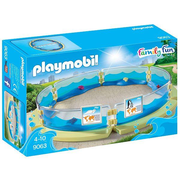 Playmobil Family Fun 9063 Piscina de Acuario - Imagen 1