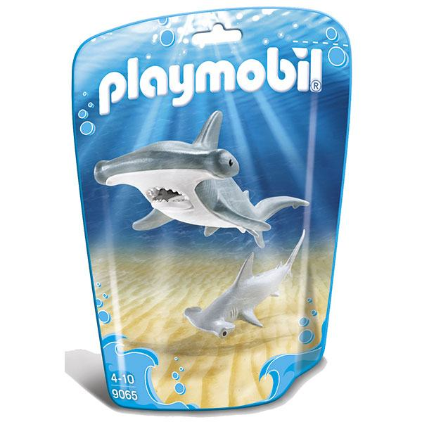 Playmobil Family Fun 9065 Tiburón Martillo y Bebé