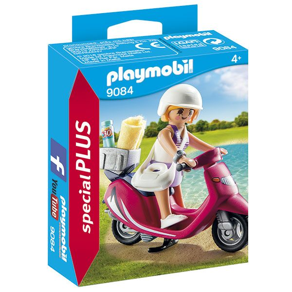 Playmobil Special Plus 9084 Mujer con Scooter