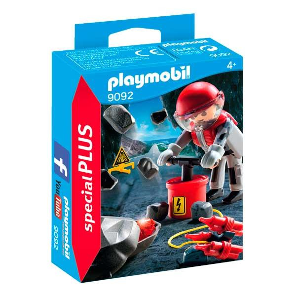 Playmobil 9092 Explosión de Rocas Special Plus