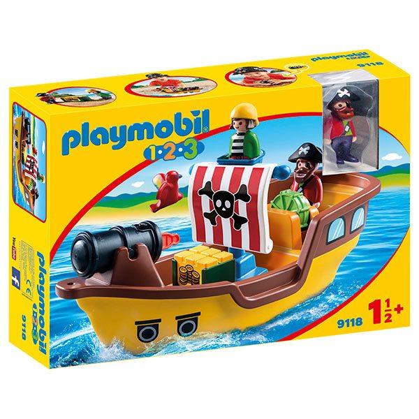Vaixell Pirata 1.2.3 Playmobil - Imatge 1