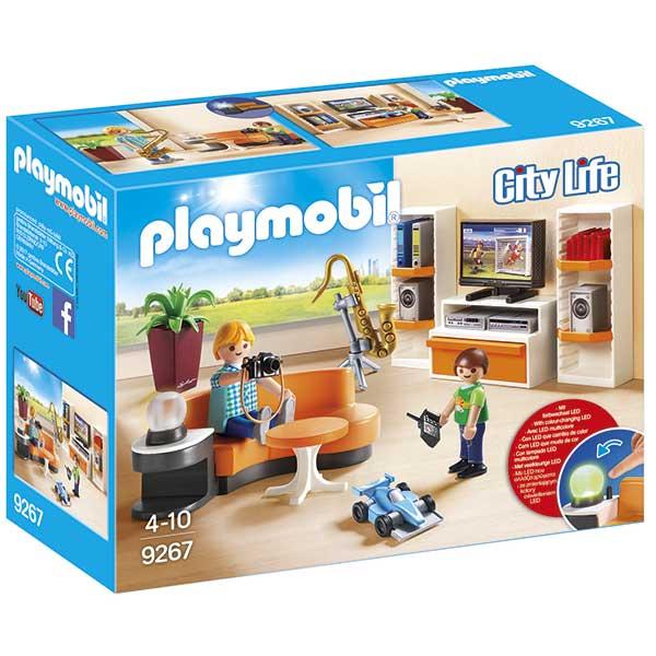 Playmobil City Life 9267 Salon Casa Moderna