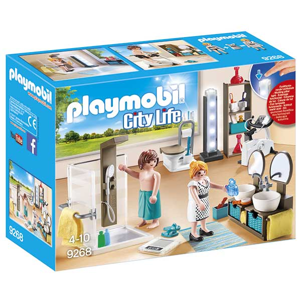 Playmobil City Life 9268 Baño Casa Moderna
