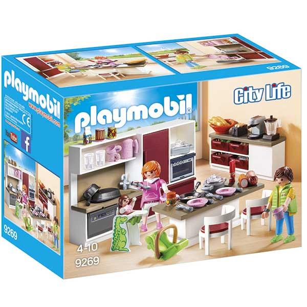 Cocina Casa Moderna Playmobil