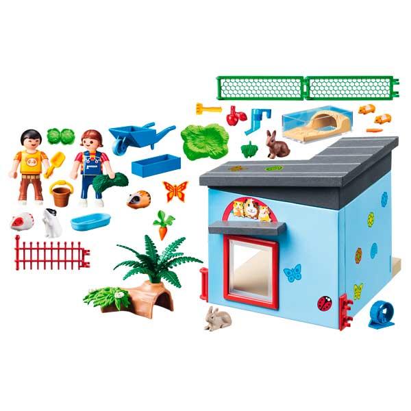 Habitación Pequeñas Mascotas Playmobil City Life - Imatge 1