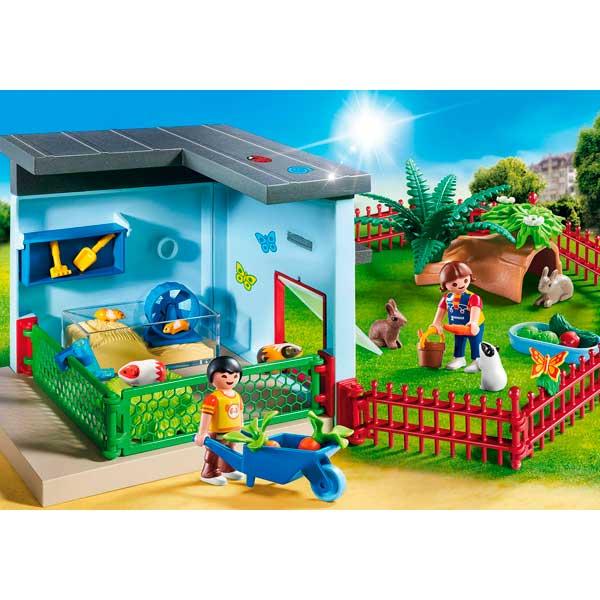 Habitación Pequeñas Mascotas Playmobil City Life - Imatge 2