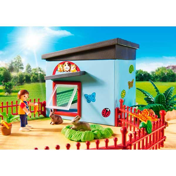 Habitación Pequeñas Mascotas Playmobil City Life - Imatge 3