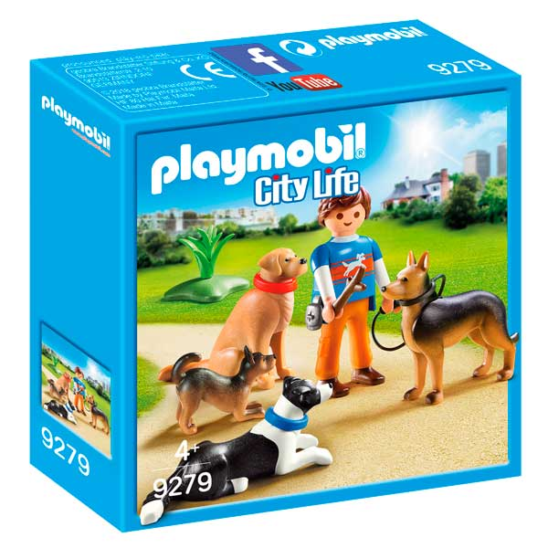 Ensinistrador de Gossos Playmobil City Life - Imatge 1