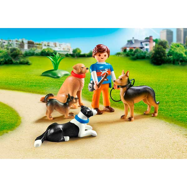 Playmobil 9279 Adiestrador de Perros City Life - Imatge 2