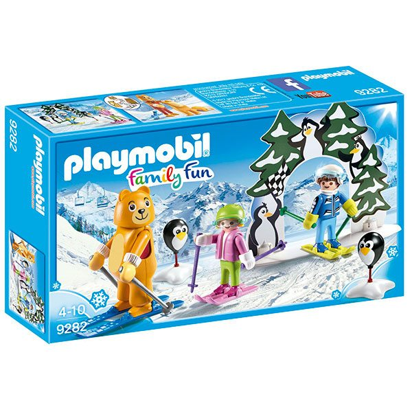 Playmobil Family Fun 9282 Escuela de Esqui