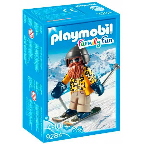 Esquiador amb Snowblades Playmobil - Imatge 1