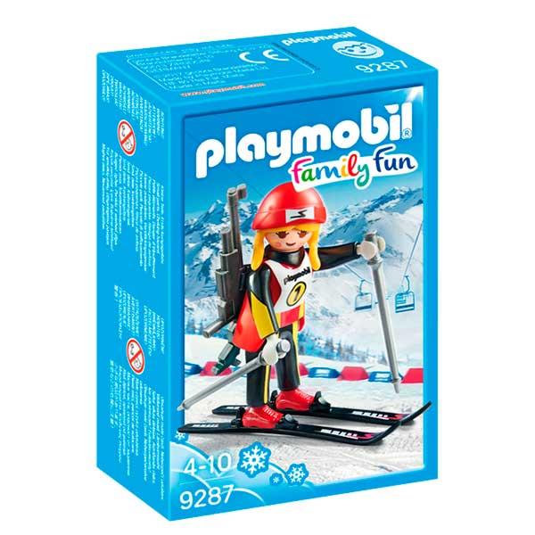 Playmobil Family Fun 9287 Atleta Femenina