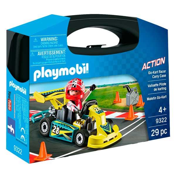 Maletí Go-Kart Racer Playmobil Action - Imatge 1