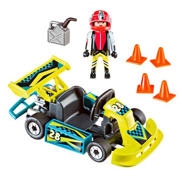 Playmobil Action 9322 Maletín Go-Kart Racer Action - Imatge 1