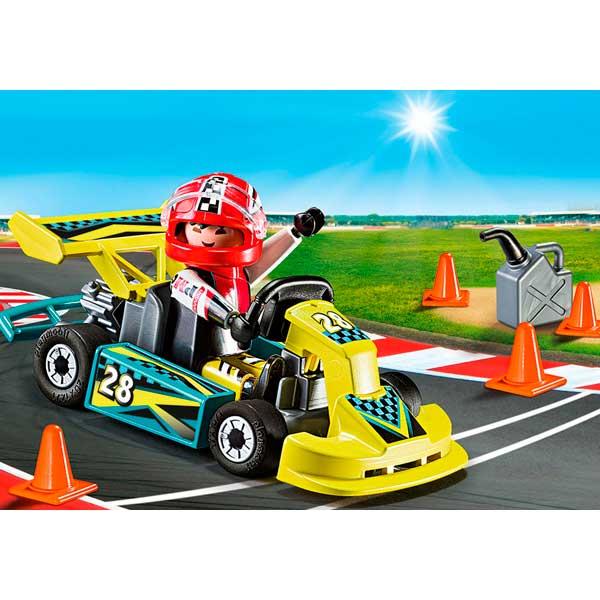 Playmobil Action 9322 Maletín Go-Kart Racer Action - Imatge 2