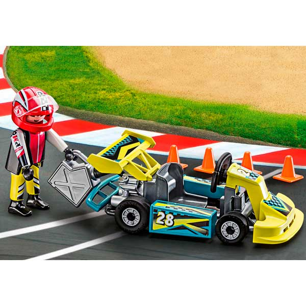 Playmobil Action 9322 Maletín Go-Kart Racer Action - Imatge 3