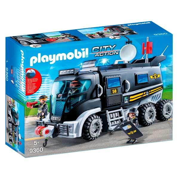 Playmobil 9360 Vehículo Fuerzas Especiales