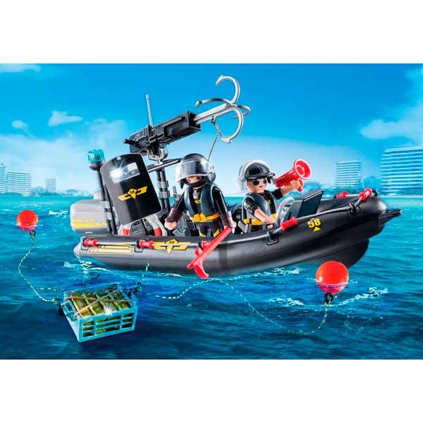 Playmobil 9362 Lancha Fuerzas Especiales City Action - Imatge 2