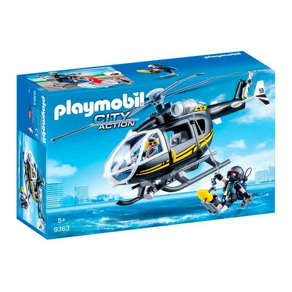 Helicòpter Forces Especials Playmobil City - Imatge 1