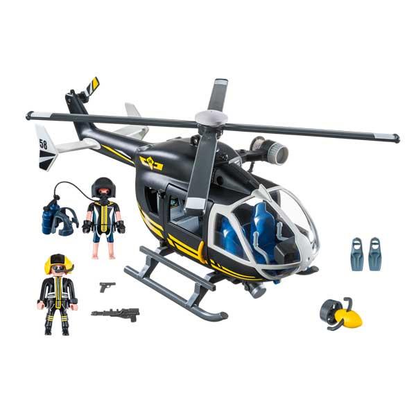 Playmobil 9363 Helicóptero Fuerzas Especiales City - Imatge 1