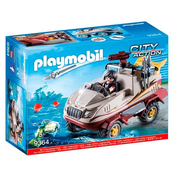 Playmobil 9364 Coche Anfibio City Action - Imagen 1