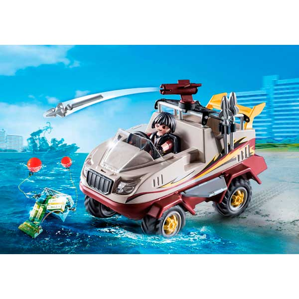 Playmobil 9364 Coche Anfibio City Action - Imagen 2